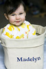 hcs - aint she sweet? (soupatraveler) Tags: family baby cute girl smile germany happy toddler sitting basket sweet indoors drool madelyn esslingen sute hcs chld canon40d shewasreallygood clichesaturday scampflickr