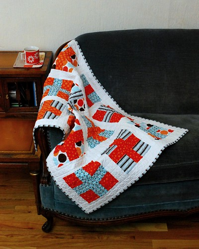 Nathaniel's Crossed Quilt