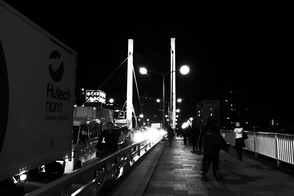 Shin-ohashi Bridge @ Mar.11 2011