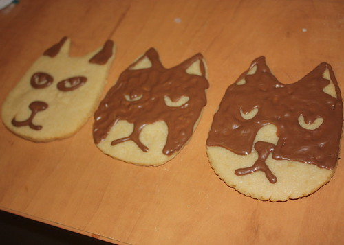 Cat Ranch cookies for Marc Maron