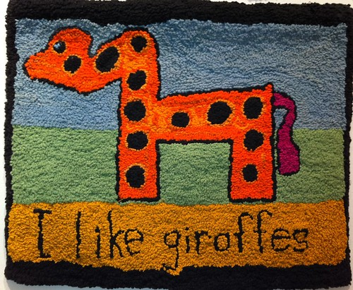 I like giraffes by Anne Vulliamy