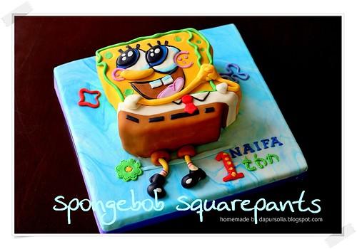 Gambar Gambar Kue Ultah Spongebob Kumpulan Gambar
