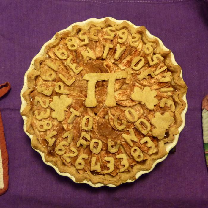 Pi Day Pie 14 March 2011