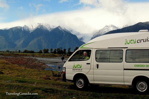 Southern Alps Campervan, New Zealand