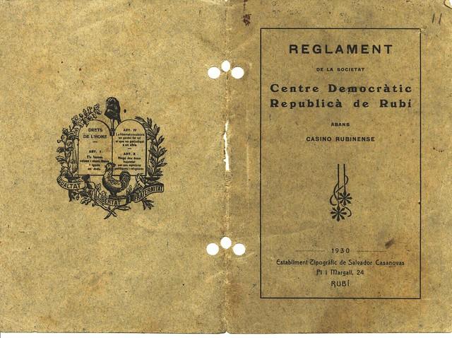 Documents Centre Democràtic Republicà