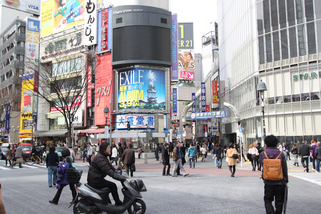 Report on Shibuya-March 11th, 2011 (9)