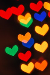 Heart Bokeh Bokeh (StephiGraffink) Tags: abstract blur colour blurry focus colorful pattern dof spectrum bright bokeh shapes vivid multicoloured outoffocus colourful repitition overlap
