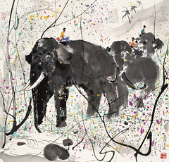 Wu Guanzhong Paintings