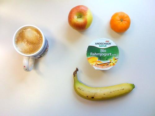 Bio-Rahmjoghurt, Braeburn, Clementine & Banane