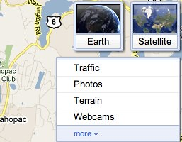 Google Maps with Google Earth