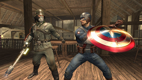 Captain America X360 Screen