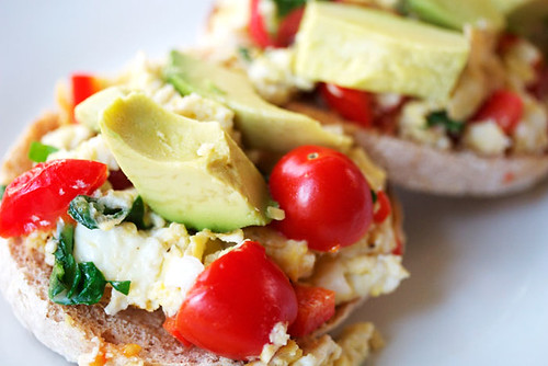 vegetarian egg scramble