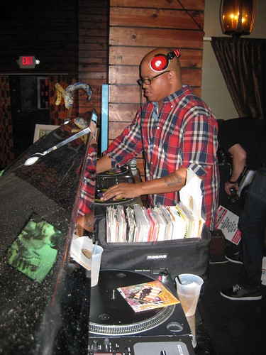 DJ Jaycee has something to say with his 45's