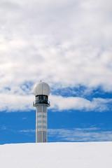 űrállomás / space station (debreczeniemoke) Tags: blue winter sky cloud spacestation transylvania transilvania ég felhő erdély tél kék rozsály űrállomás canonpowershotsx20is igniş