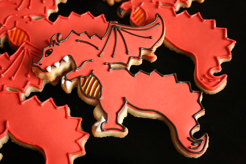 Red Dragon cookies.