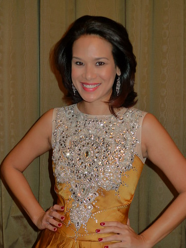 Elaine Daly, former Miss Malaysia, lawyer, actress, emcee and all rounder