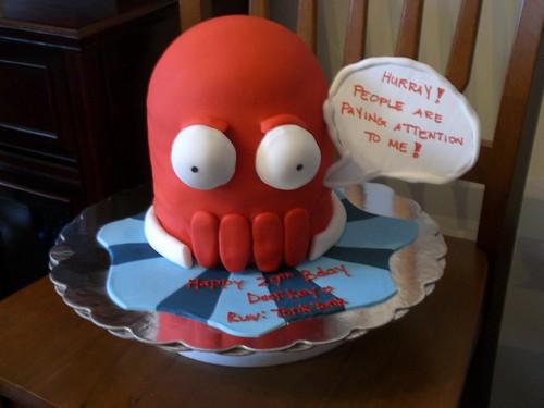 futurama cake
