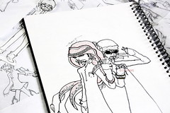 Qtr-Boy & Uae-Boy (emolish) Tags: demolish drawing part2 uaeboy qtrboy