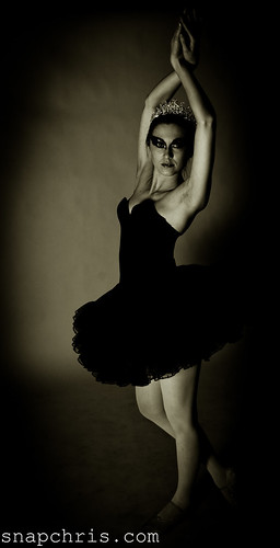 Black And White Ballet Dancer. lack and white ballet dancer