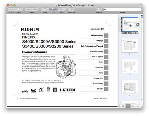 Fuji S4000 Manual — PDF Download Available Now