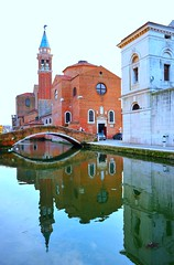DSC_2708 Chioggia (Ve) Italy (tango-) Tags: bridge venice italy reflection church abbey reflections puente cathedral bridges churches iglesia ponte chiesa puentes iglesias venezia riflessi eglise burano chioggia cattedrale riflesso waterreflections  capilla ponti  cattedrali capillas fiatlux chiese abbeys wetreflections       flickrchallengegroup cathetrales platinumheartaward