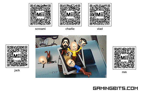 "Nintendo 3DS Miis - ""Save Mii"""