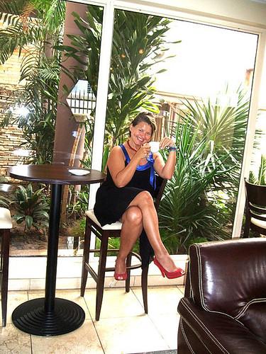 Flickriver: Mature Women in Mini-Skirts & Heels pool