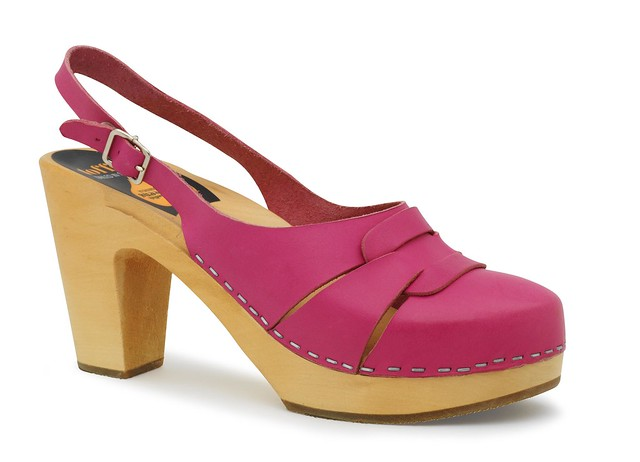 312 60's Slingback Neon Pink
