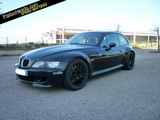 Black and Kyalami Orange M Coupe