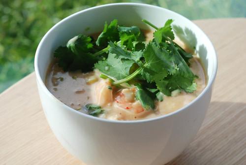 Thai Shrimp Soups