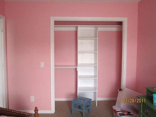 Winnie's Room - Closet Wall