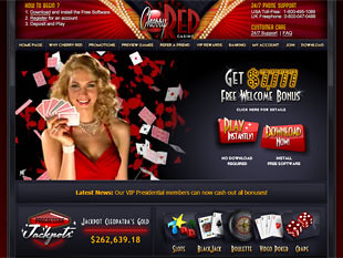 Cherry Red Casino Home