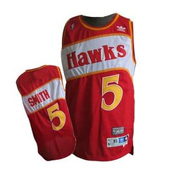 Atlanta Hawks #5 Josh Smith Red Throwback Jersey (Terasa2008) Tags: jersey atlantahawks  cheapjerseyswholesale cheapmlbjerseys mlbjerseysfromchina mlbjerseysforsale cheapatlantahawksjerseys