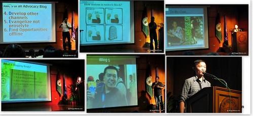 Speakers Sonnie Santos, Roy Dela Cruz, Ria Tirazona, Jinkee Umali, Fitz Villafuerte, Jonel Uy (L-R, T-B)