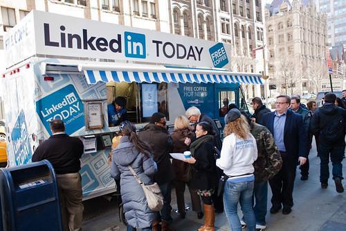 LinkedIn Trucks