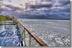 Golfo ghiacciato /Iced gulf (Fil.ippo) Tags: sea ice finland tallinn estonia mare gulf