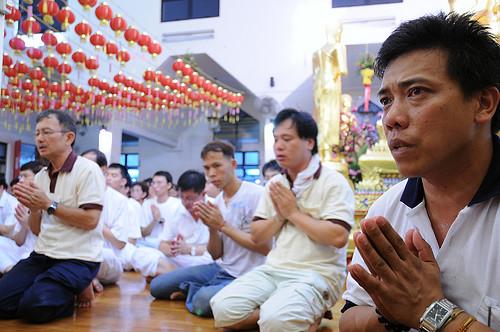 2008 vesak day Respect prelims xianjie