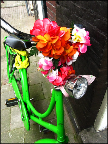 Amsterdam bike decoration