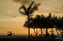 Sunset at Shangri-la Rasa Ria Resort (Adam Lai) Tags: sunset red sky beach nature beautiful golden evening amazing shangrila resort malaysia borneo sabah ria rasa dalit