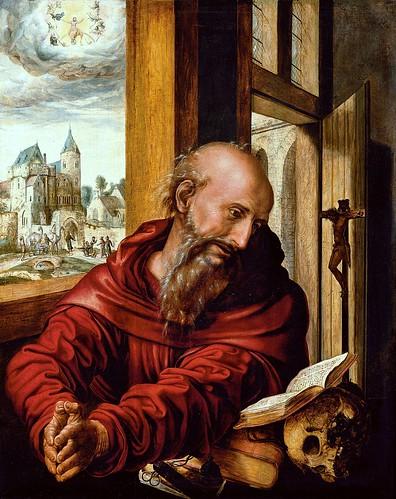 Jan van Hemessen, Der hl. Hieronymus als Mönch / St. Jerome as Monk