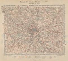 1907. Carte routire de Dion-Bouton__3 (foot-passenger) Tags: dionbouton  dedionbouton bnf gallica bibliothquenationaledefrance