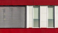 Red lines [39/365] (Marcin Wasioek) Tags: shape abstract colors lines