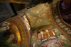 San Vitale (Ravenna, Italia) (alfonsocarlospalencia) Tags: san vitale ravenna italia arte cpula bizantino mosaicos maravilla contrapicado pinturas colores detalles