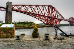 Forth Rail Bridge (diminji (Chris)) Tags: scotland lovescotland northqueensferry forthrailbridge forthbridge hdr hdrtoning edinburgh bridges railbridge