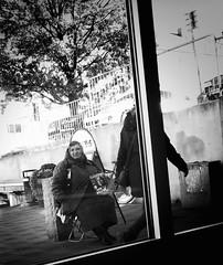 (Peter Tynkkynen) Tags: faktum faktumfrsljare lundby laughing willys wieselgrensplatsen gteborg hisingen outside woman sitting beggar romani gypsy