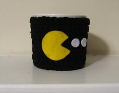 Pac-man mug cozy