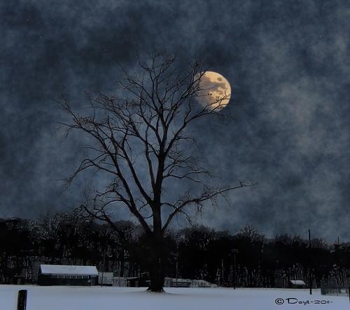 Moon over Rec Park