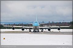Korean Air Cargo - HL7438 - B747-400F (Aviation & Maritime) Tags: cargo boeing boeing747 jumbojet osl gardermoen freighter b747 boeing747400 engm cargoaircraft b747400 cargoplane koreanaircargo boeing747f b747400f boeing747400f hl7438 b747f osloairportgardermoen