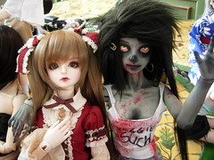 dollmeet 055 (kumasmash) Tags: angel ball cherry mod doll zombie toast elf lolita bjd custom dod ira meet jointed dollheart faceup dollzone