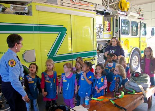 Fire Station Visit 1